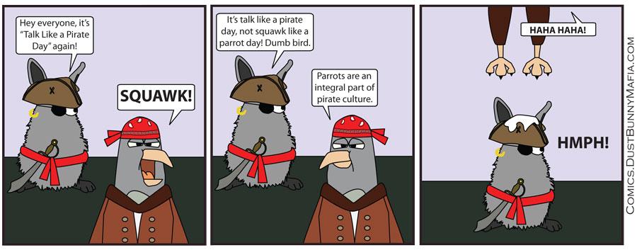 Talk Like A Pirate Day 2013