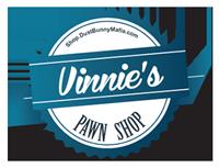 Vinnie's Pawn Shop Round Logo